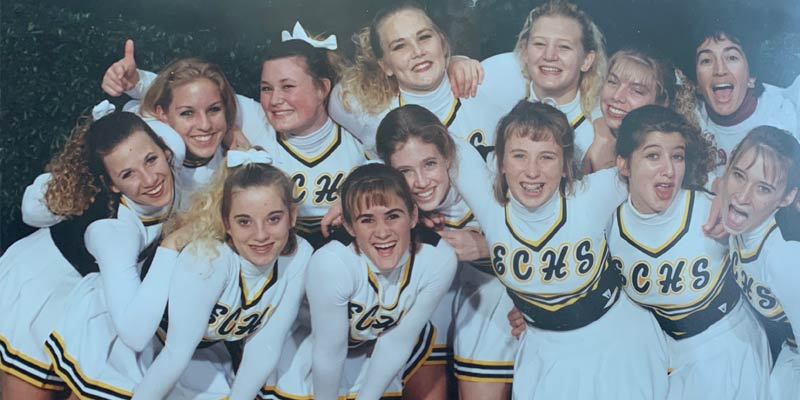 El Capitan varsity cheer team 1995