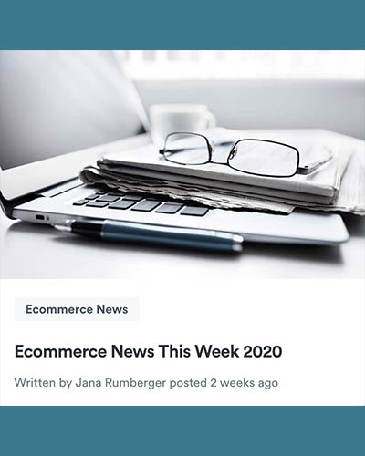 Ecommerce news from Jana Rumberger on Selz