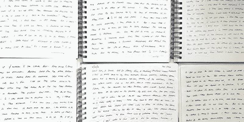 A collection of journal pages from jana rumberger, practice is the key to effective writing