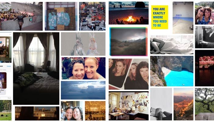 Not all who wander are lost and these grids of photos help with goal setting