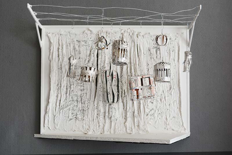 Metafiction: Memory Cages 1998 Jana Rumberger art