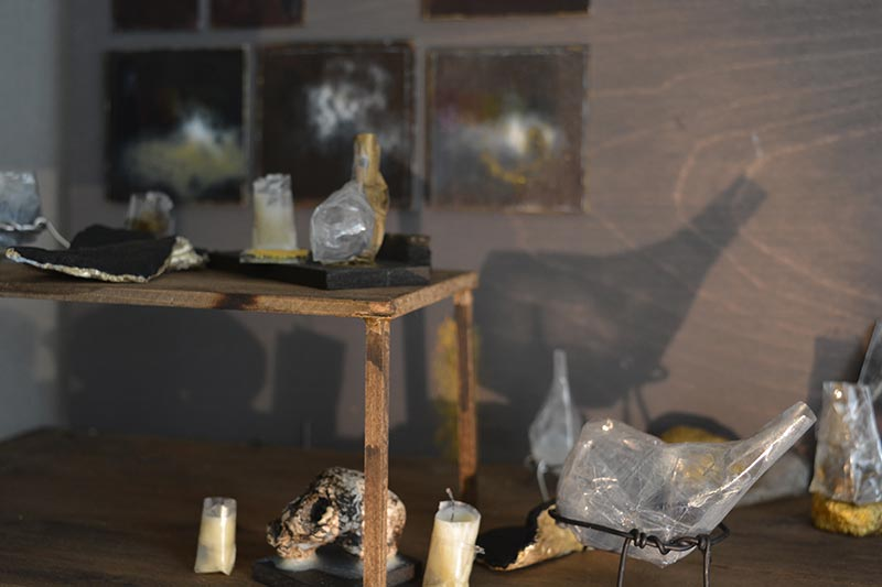 Modernist alchemy metafiction detail Jana Rumberger art