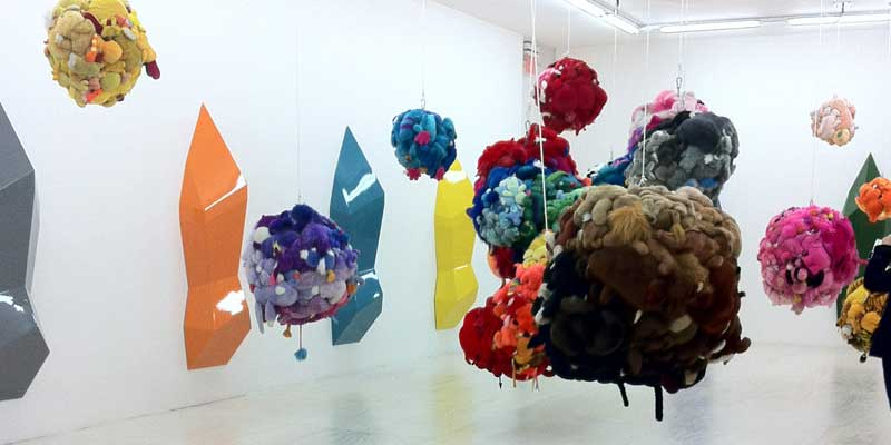 Deodorized Central Mass with Satellites by Mike Kelley at Moma PS 1